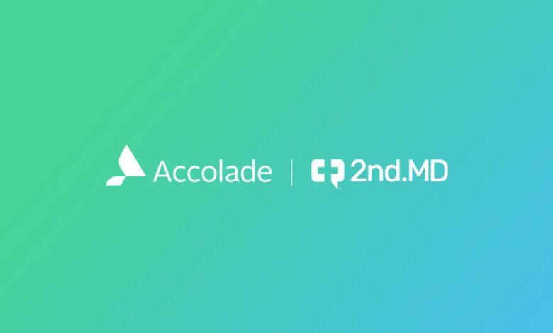 Accolade and 2nd.MD