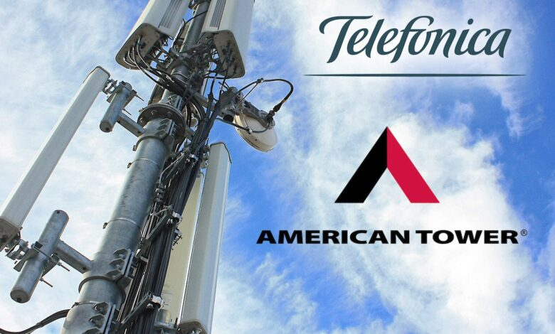 Telefonica and American Towers